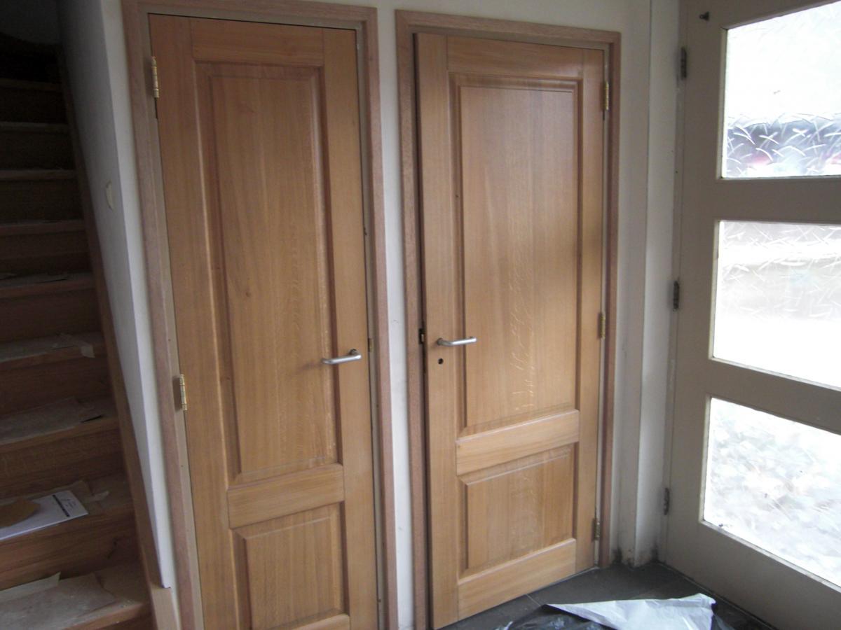 Hardhouten binnendeuren rp67 silverstaken for Top deuren
